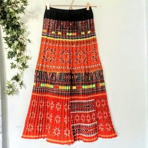 Dresses & Skirts - Ethnic Tribal Hmong maxi skirt